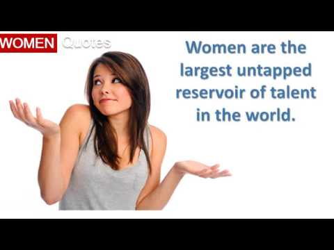 Hillary Clinton' Women Quotes All the time - Women are the largest untapped reservoir