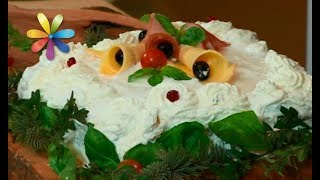 Салатный торт на Новый год – Все буде добре. Выпуск 1137 от 11.12.17
