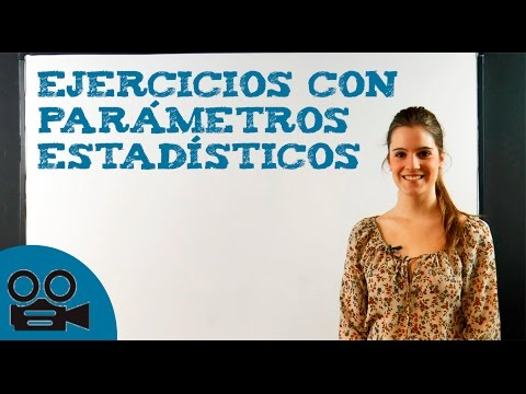 Ejercicios con parámetros estadísticos