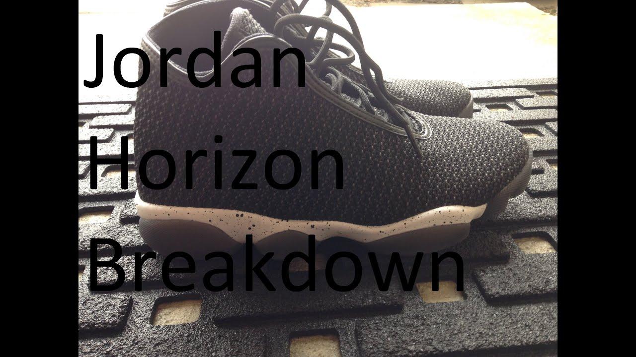 brand new 02b64 41362 Jordan Horizon  Sneaker Breakdown