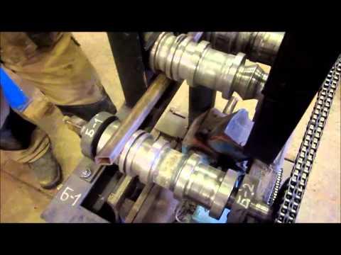 видео: самодельный станок трубогиб
