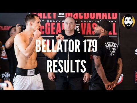 Bellator 179 Results: Paul Daley vs. Rory MacDonald