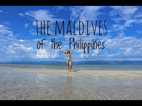 The Maldives of The Philippines - Vlog 008 - Sand bar and Dolphins