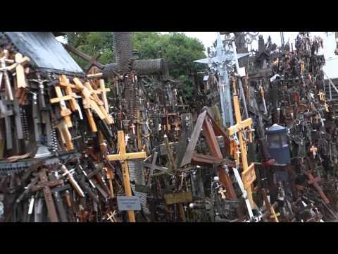 リトアニア 十字架の丘 Hill of Crosses