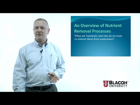 All Things Water Course I, Nutrient Removal Part 1 Of 2