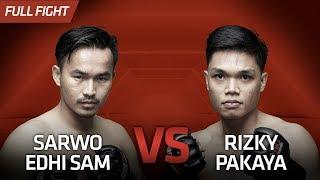 [HD] Sarwo Edhi Sam vs Rizky Pakaya || One Pride FN #32