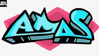 How to Draw Graffiti Amos