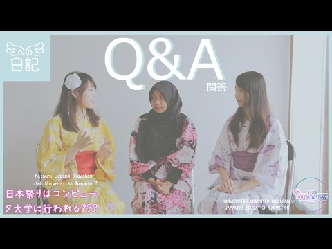 AngeLight Q&A #1: Japanese Education Exhibition (JEE Unikom)