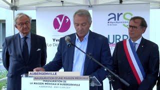 Yvelines | Aubergenville : inauguration d'une maison médicale