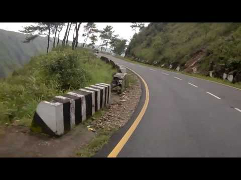 """Shillong to Cherrapunjee via State Highway(SH) 5. Autocar India's """"Top 10 Driving Roads in India."""""""