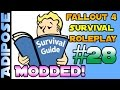 Fallout 4 Survival Roleplay - Modded!! #28 Red Paint and Broken Legs