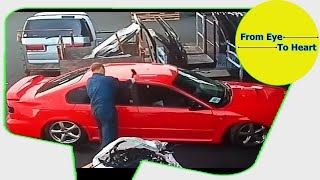 Car Crash) very Shock dash camera 2018 NEW By Top Speed Motor HD (1225) HD