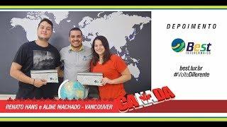 Intercambista Best - Aline Machado - Vancouver / Canada