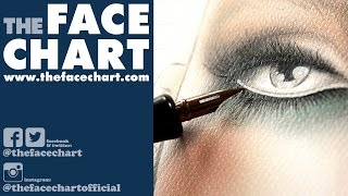 Makeup Face Chart: How to Create Eyelashes