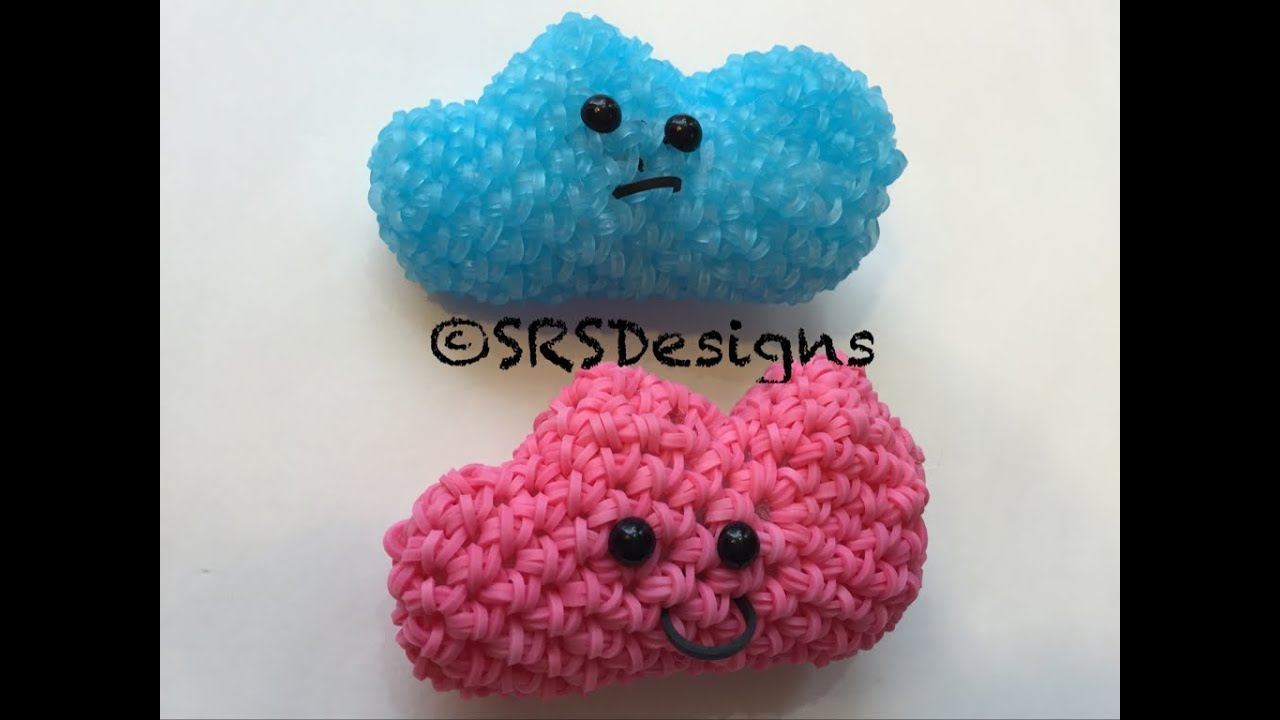Amigurumi Loom Patterns : Cloud tutorial rainbow loom kawaii loomigurumi amigurumi hook only