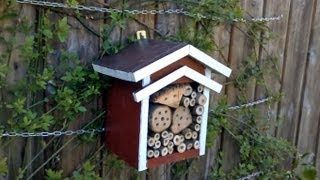 Make A Bee Hotel - Insektenhotel Bauen - Woodworking