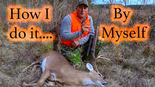 How To Gut A Deer, in the Field, by Yourself! {Quick Clean Easy}