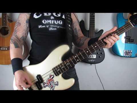 Guns N' Roses - It's So Easy - Bass Cover (HD)