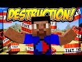 DESTROYING A NATION! - Minecraft NATIONS AT WAR #2 with Vikkstar