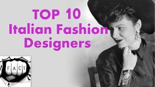 top 10 most popular italian fashion designers