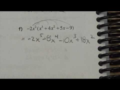 Expanding Polynomials   Lesson