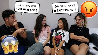 Asking Our 13 Year Old Cousins AWKWARD QUESTIONS !
