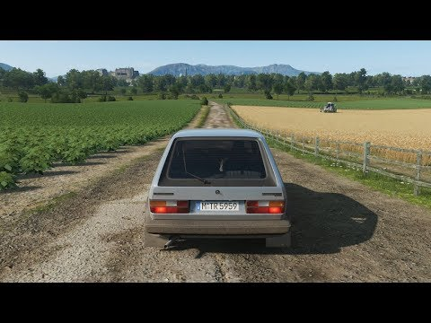 Forza Horizon 4 - 280HP VOLKSWAGEN GOLF GTI MK1 - Test Drive - 1080p60FPS