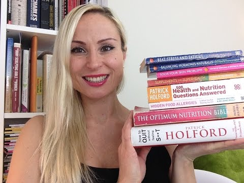 Books about nutrition and health- part 1