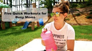 five Ways Wednesday  Five Ways to Exercise With Your Big Bottle Co Water Bottle  The Sensible Mama