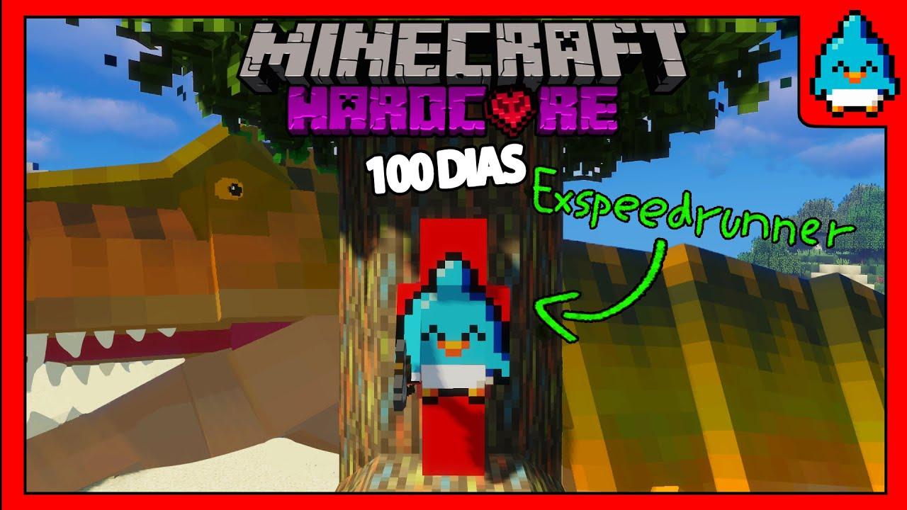 SOBREVIVE 100 días en un Apocalipsis de Dinosaurios en Minecraft HARDCORE