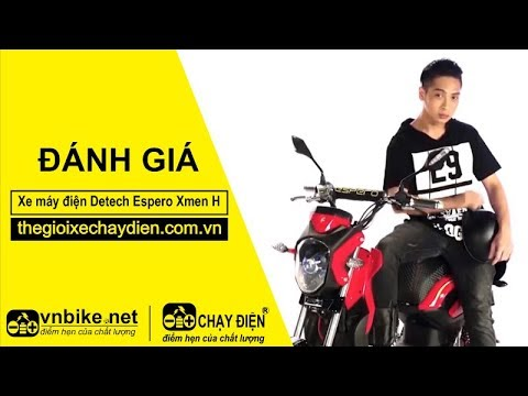 Đánh giá xe máy điện Detech Espero Xmen H