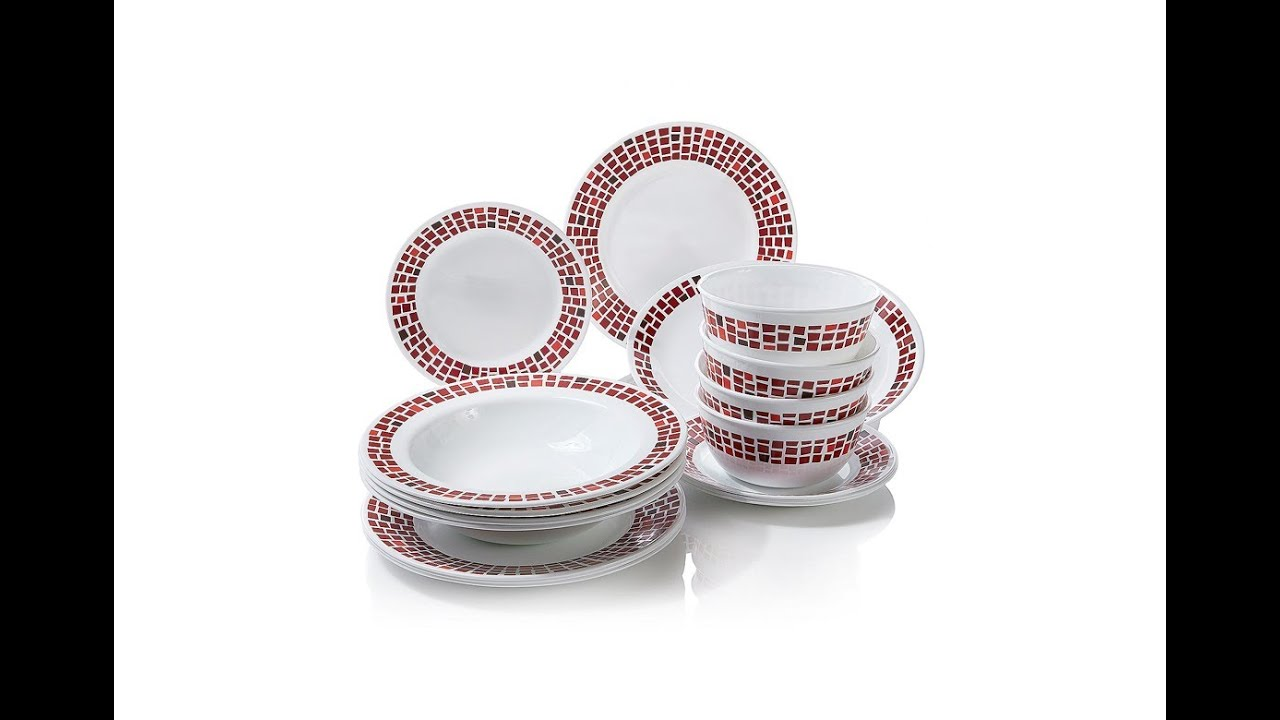 HSN | Item #276298 | Corelle® for Joy 16-piece Dinnerware Set with ...