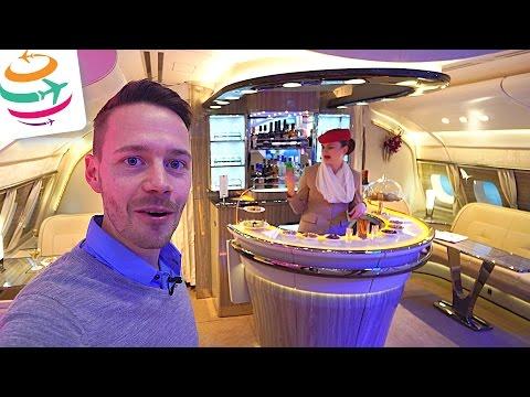 Emirates neue Onboard Lounge und Business Class auf der ITB Berlin | GlobalTraveler.TV
