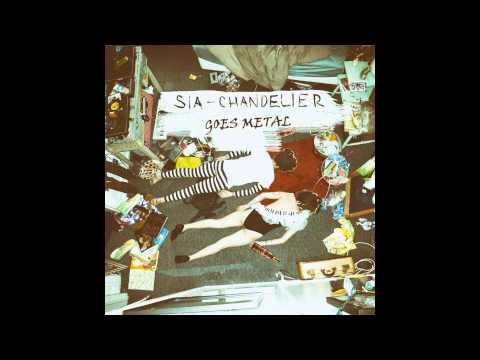 Sia - Chandelier [Metal guitar cover]