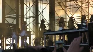 Fifth Harmony - Intro + BO$$ - Show of The Summer   Hershey, PA (6/28/15)
