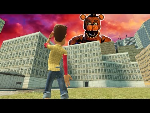 Saving CHRISTMAS from a GIANT FNAF MONSTER in GMOD! (Garrys Mod Gameplay & Gmod Roleplay)