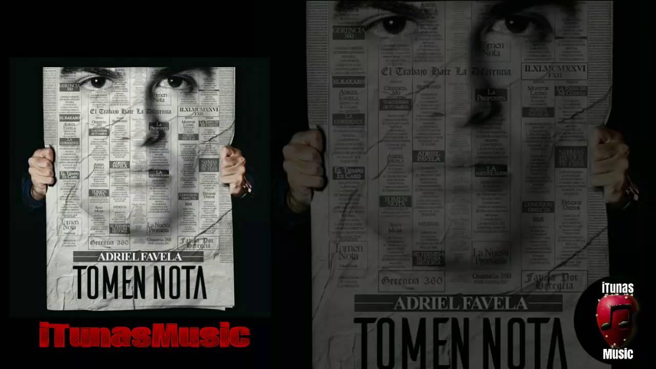 tomen nota adriel favela lyrics