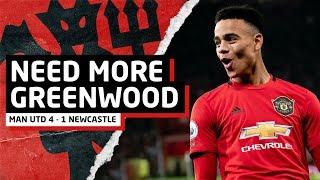 More Mason Greenwood   Manchester United 4-1 Newcastle United   Man Utd News