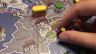 War Room folding World Map