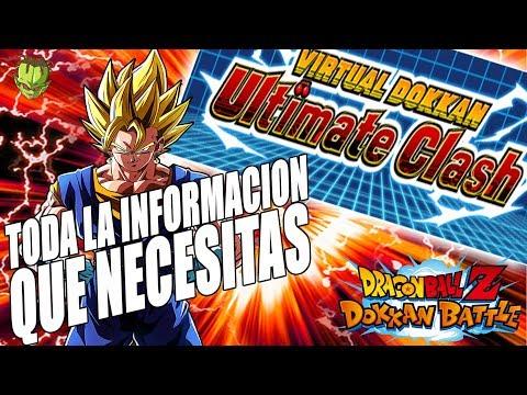 LLEGA EL VIRTUAL DOKKAN ULTIMATE CLASH! TODA LA INFO DEL BATTLEFIELD /// Dokkan Battle en Español thumbnail