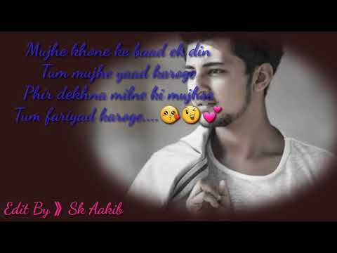 Heart Touching Sad Song by Darshan Raval
