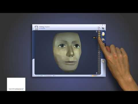"""Face Scan"" - Direct Manipulation Touch Interface"