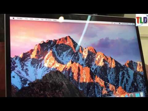 Trên tay phiên bản Macbook Pro 13 inch giá rẻ 2017 không TOUCH BAR