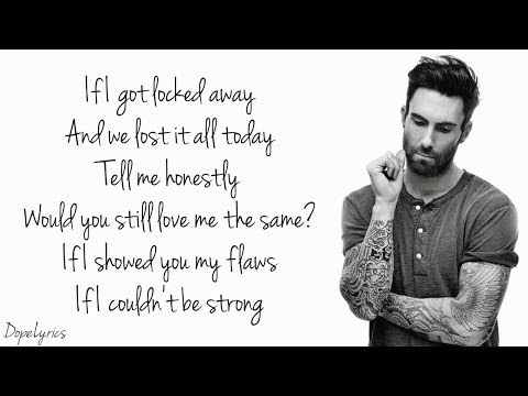 Locked Away - R. City ft. Adam Levine (Lyrics)