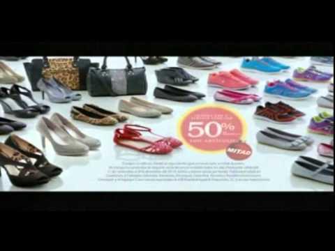 Promoción Zapatos y carteras a mitad de precios Payless Shoe