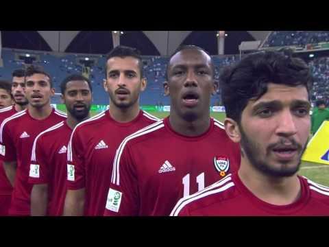 [2014.11.23] UAE vs Saudi Arabia - national anthems