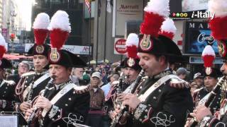 New York to the Rhythm of the Banda dei Carabinieri