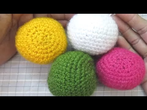 How To Make Crochet Ball Hindi Youtube
