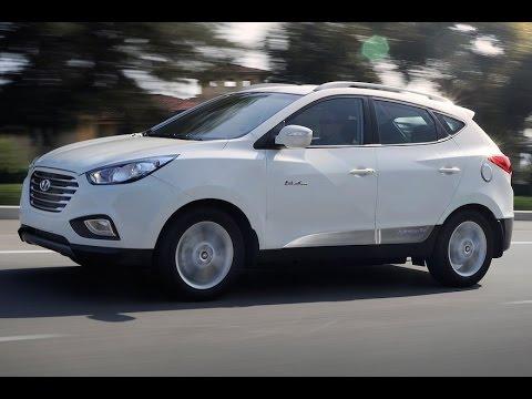 2017 Hyundai Tucson Hydrogen Electric Vehicle