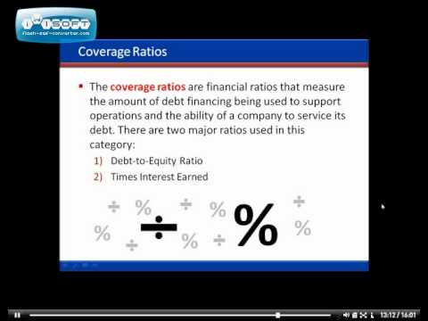Stock Market Basics - Financial Ratios